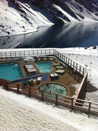 Portillo Hotel: after ski é top