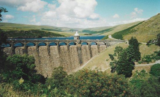 Caersws, UK: Elan Valley Reservoir that provides water to Birmingham