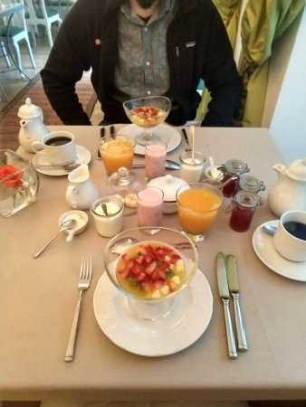 Riad Idra: About HALF of the amazing breakfast