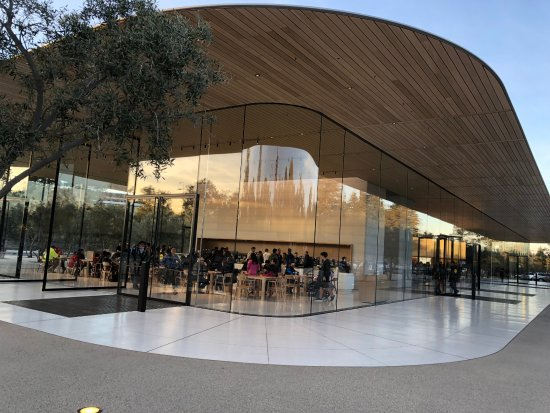 Cupertino, Californien: Apple Visitor Center building