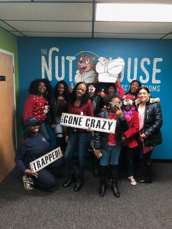Nut House Escape Rooms: These girls were crazy!