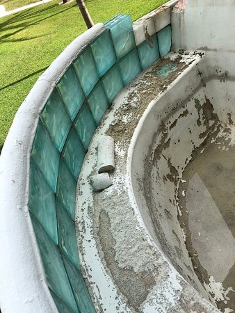 Taino Beach Resort & Clubs: so they can't at least clean out the abandoned hot tub on our lanai?????