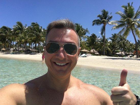 Sugar Beach Mauritius : VIEW OF SUGAR BEACH GOLF RESORT AND SPA, DECEMBER 2017.
