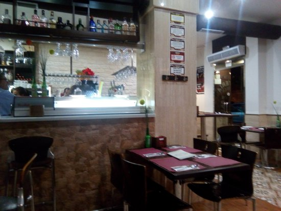 Canadian Bar and Tapas: Inside.  There is also outdoor seating.