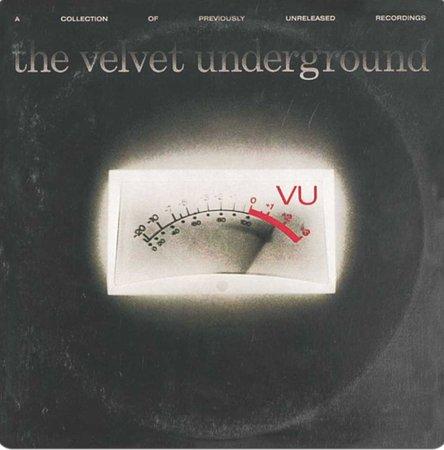 A capa de vu que significa tanto velvet underground for Que significa velvet
