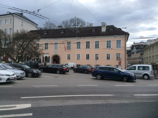 Mozart Wohnhaus: As a young man he lived here with the family