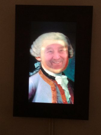 Mozart Wohnhaus: Have a bit of fun, become Mozart for a photo
