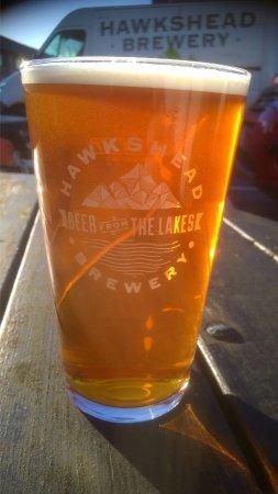 Staveley, UK: Hawkshead ale