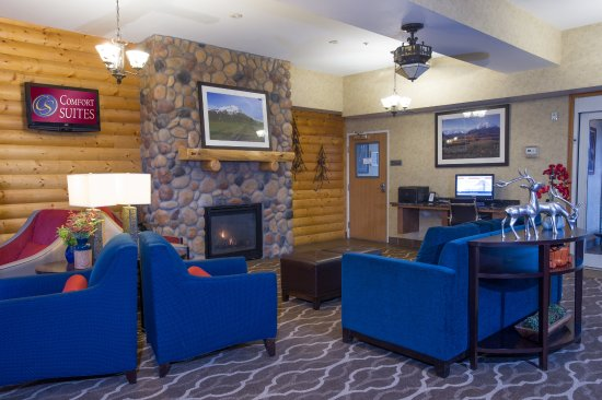 Comfort Suites Anchorage International Airport: Lobby