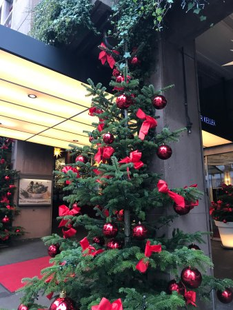 Hotel Basel: Decorated beautifully for Christmas!