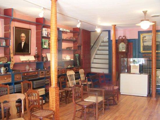 Aurora, NY: Interior of store