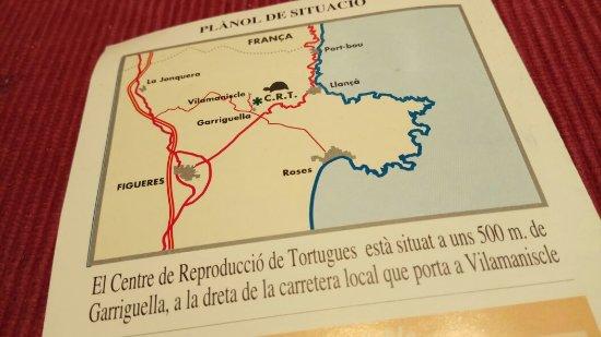 Centre de Reproduccion de Tortugas del Albera: Interessant!!!!