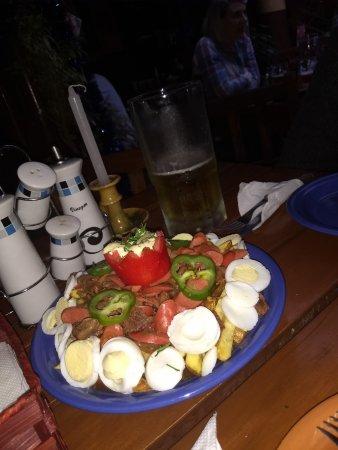 Joy Ride Cafe: piquemacho, excelente sabor!