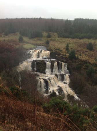 Loup of Fintry falls