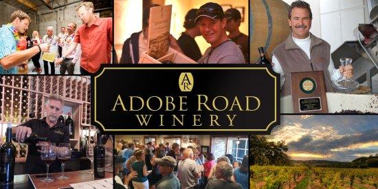 Adobe Road Winery: Petaluma's very own winery.