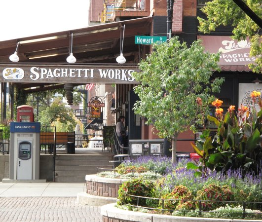 Spaghetti Works Downtown Omaha In The Old Market Picture Of