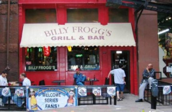 Billy Froggs Grill Bar Downtown Old Market Omaha Ne Picture