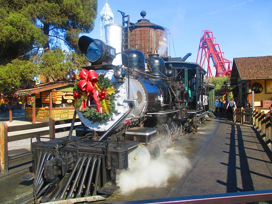 Buena Park, Kalifornien: Steam Train at Knott's