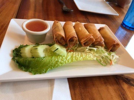 Thai Spice: yummy spring rolls