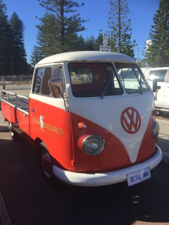 cute little vw parked out the front couldn t resist the photo rh tripadvisor com au
