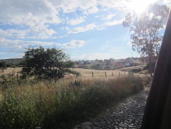 The gorgeous scenery near the Yoga Center of San Miguel