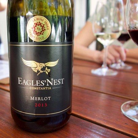 Constantia, جنوب أفريقيا: Eagles' Nest Merlot