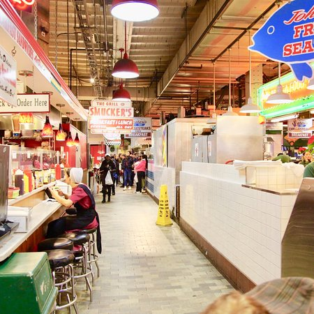 Sign picture of reading terminal market philadelphia for Aashiyana indian cuisine reading pa