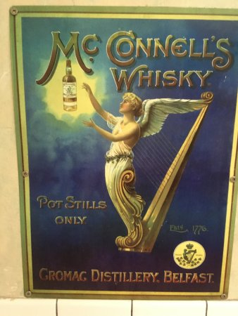 McConnells Whisky wall art - Picture of Shakespeare Pub and Grille ...