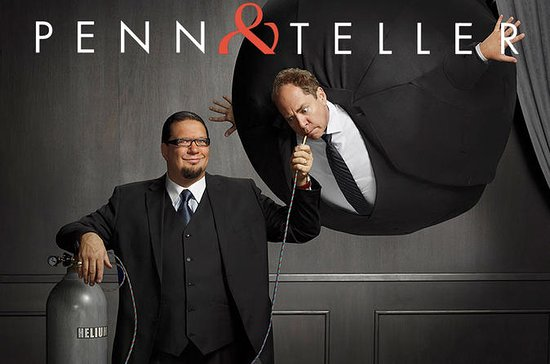 Penn and Teller at the Rio Suite...