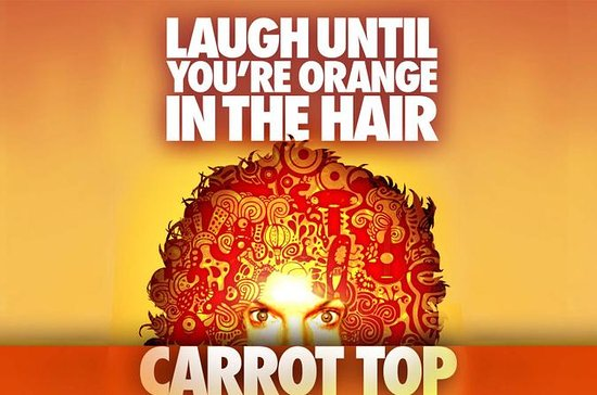 Carrot Top at the Luxor Hotel and...