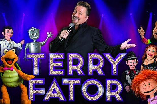 Terry Fator at the Mirage Hotel and...