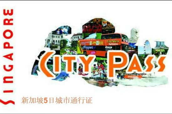 5-Day Singapore City Pass with...