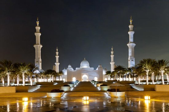 Abu Dhabi Tour: Sheik Zayed Mosque...
