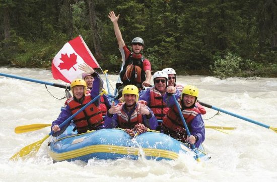 3.5-Hour Sunwapta River Rafting...