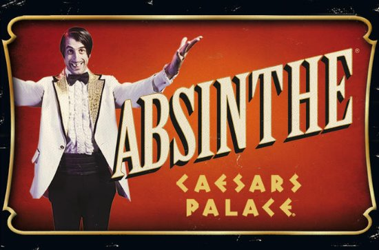 Absinthe at Caesars Palace in Las...