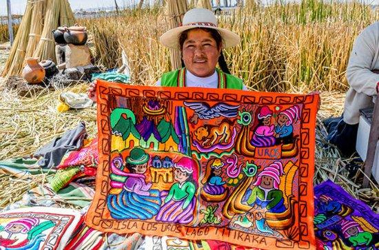 Titicaca Uros halvdagstur