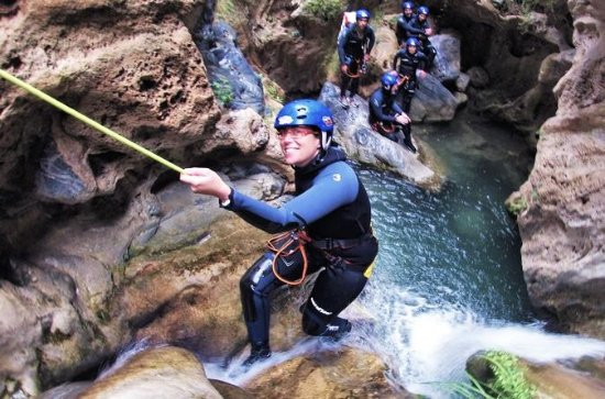 Guided Visit: Canyoning in Granada...