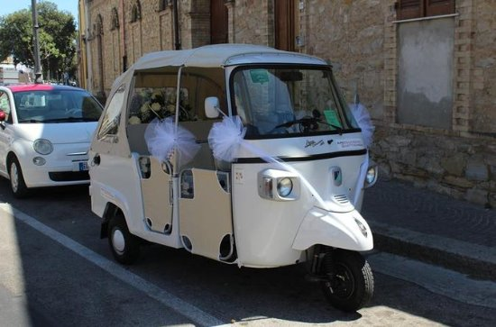 Tuk Tuk tour in Cagliari city...