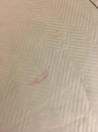 Townsend, Джорджия: Lipstick stain....