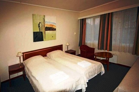Floro, Norwegia: Guest room