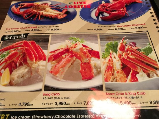 Limited halal menu - Picture of Red Lobster, Universal City