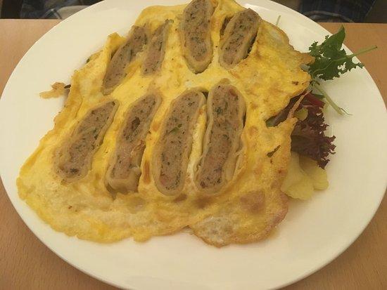 Maultaschen With Scrambled Egg Picture Of Die Maultasche Berlin Tripadvisor