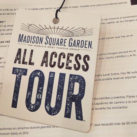 Foto De Madison Square Garden All Access Tour Nueva York Img 20180102 163451 252