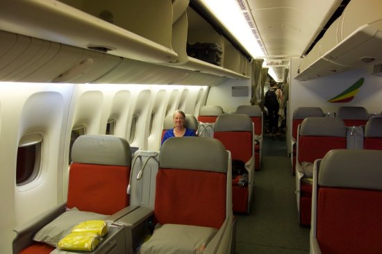 Business Class On A Boeing 777 200lr Picture Of