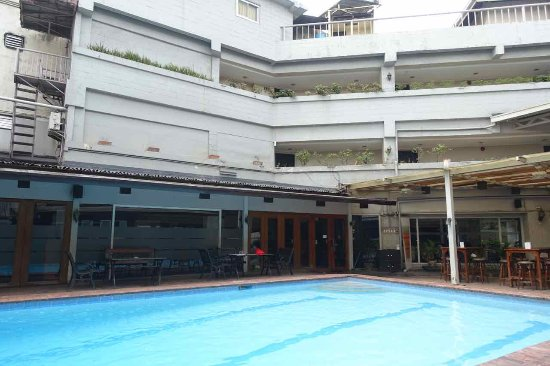 The Oasis Paco Park Hotel: Pool vor Oasis Park Hotel
