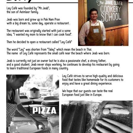 The Story Ley Cafe Pranburi - Picture of Ley Cafe Pranburi, Pak Nam