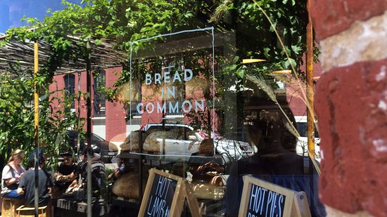 Bread In Common Street Reflection