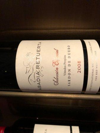 Sardon de Duero, Hiszpania: Excelentes vinos de alli mismo