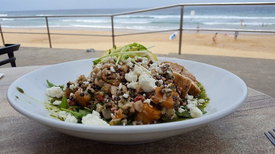 Curl Curl, Australia: Barley and Cauliflower Salad with Chicken