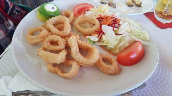 Restaurante La Barca: Calamares a la romana